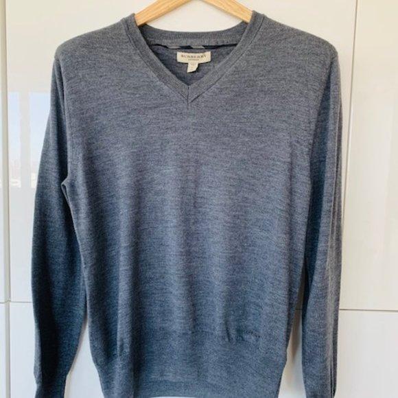 Burberry Grey Sweater Medium
